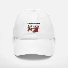 Merry Christmas Santa Baseball Baseball Cap