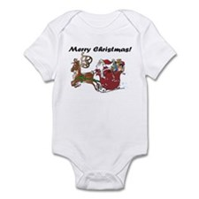 Merry Christmas Santa Infant Bodysuit