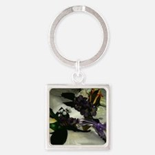 Cute Mother of the groom Square Keychain