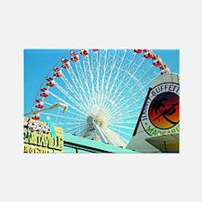 Unique Ferris Rectangle Magnet