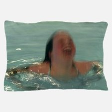 Funny Abstract swimming Pillow Case