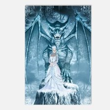 Ice Queen and Dragon Postcards (Package of 8)