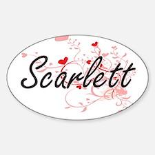 Cute Scarlett Decal