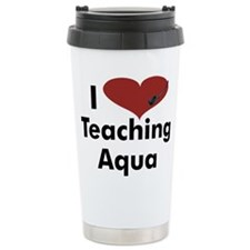 Cute Aerobic instructor Travel Mug