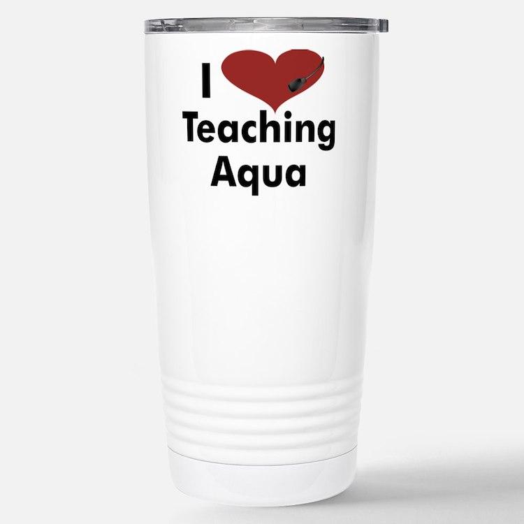 Cute Water aerobics Travel Mug
