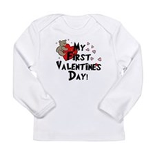 Cute First valentines day Long Sleeve Infant T-Shirt