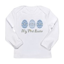 Cool Easter basket Long Sleeve Infant T-Shirt