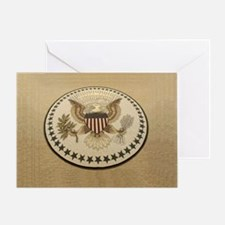 Unique Presidential seal Greeting Card