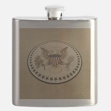 Presidential seal Flask