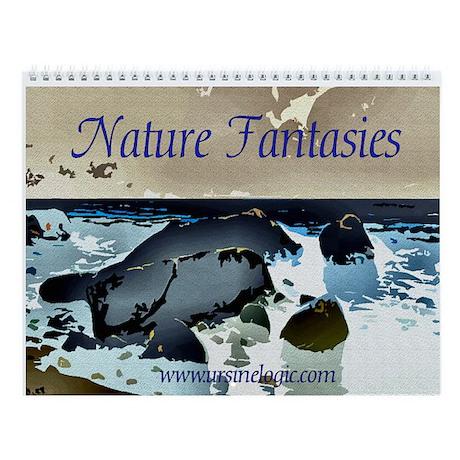 2008 Nature Fantasies Wall Calendar