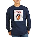 1950\'s mens shirts Long Sleeve T Shirts