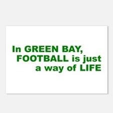 Football Green Bay Postcards (Package of 8)