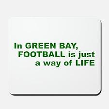 Football Green Bay Mousepad