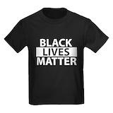 Black lives matter Kids T-shirts (Dark)