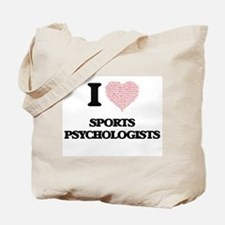 I love Sports Psychologists (Heart made f Tote Bag