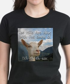 Musical and Goat Humor T-Shirt
