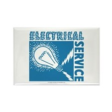 Electrical Service Rectangle Magnet