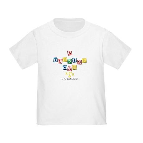 Turkish Van Kitty Toddler T-Shirt