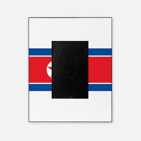 North Korea Flag Picture Frame