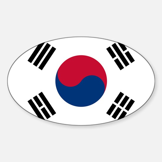 South Korea Flag Decal