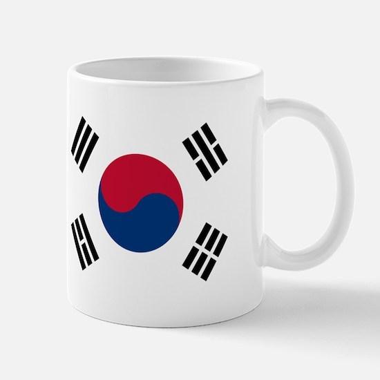South Korea Flag Mugs