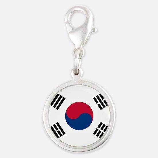 South Korea Flag Charms