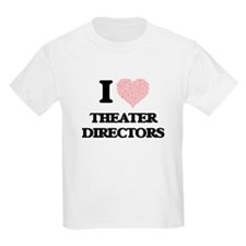 I love Theater Directors (Heart made from T-Shirt