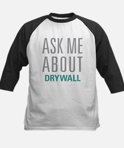 Ask Me About Drywall Baseball Jersey
