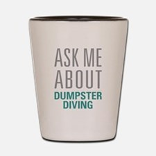 Dumpster Diving Shot Glass