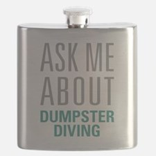 Dumpster Diving Flask
