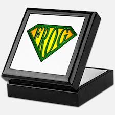 SuperFrog(Green) Keepsake Box