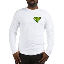 SuperFrog(Green) Long Sleeve T-Shirt