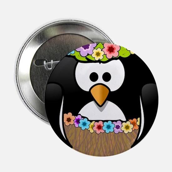 "Hawaii Penguin 2.25"" Button"