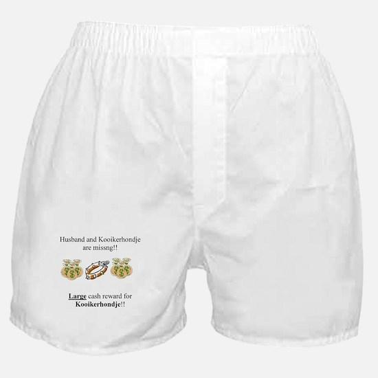 Kooikerhondje Missing Boxer Shorts