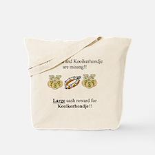 Kooikerhondje Missing Tote Bag