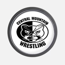 Central Mountain Wrestling 6 Wall Clock