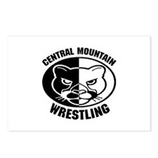 Central Mountain Wrestling 6 Postcards (Package of