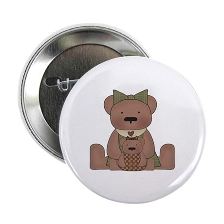 "Teddy Bear With Teddy 2.25"" Button (10 pack)"
