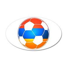 Armenian Soccer Ball Wall Decal