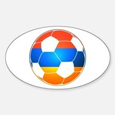 Armenian Soccer Ball Decal