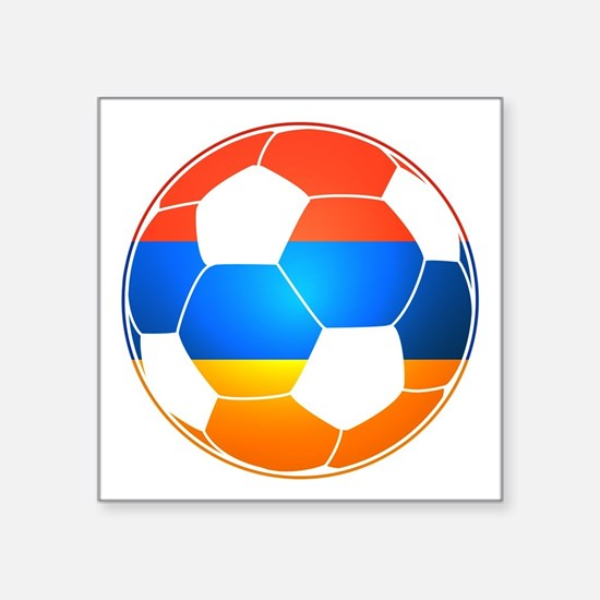 Armenian Soccer Ball Sticker