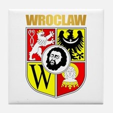 Wroclaw Coat of Arms Tile Coaster
