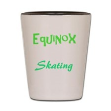 Funny Skate Shot Glass