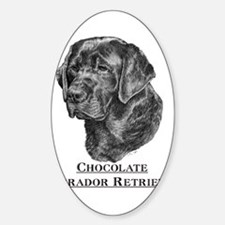 Beagle Dog Breed Oval Decal