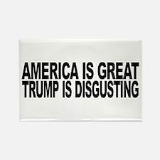 America Great Trump Disgusting Rectangle Magnet