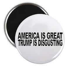 America Great Trump Disgus 2.25