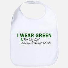 Green For Dad Organ Donor Donation Bib