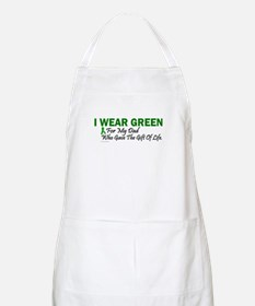 Green For Dad Organ Donor Donation Apron