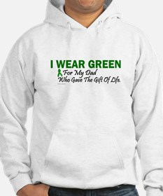 Green For Dad Organ Donor Donation Hoodie