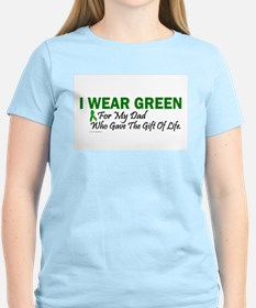 Green For Dad Organ Donor Donation T-Shirt